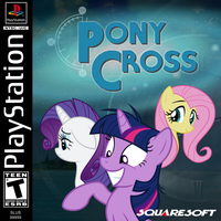 Pony Cross by thelilpallywhocould
