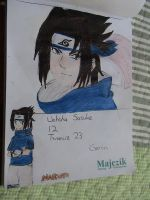 Uchiha Sasuke from Naruto by ser-en