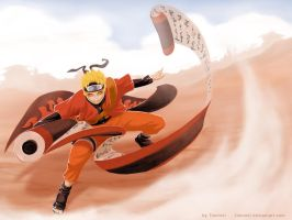 The hero of Konoha by Tionniel