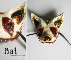 Bat Masquerade Mask by Mikadze