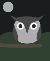 Owl by 4ofclubs