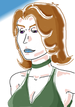 Portrait of a young lady - Malva by Half-of-a-mask