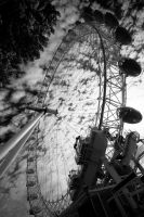 london eye BW by Madster1ms
