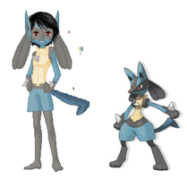 pokemon dolly-Lucario by john67