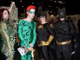 London Expo: The batman crew by GrenadierJorinde