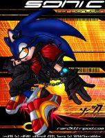 Sonic da hedgehog by digital-addict