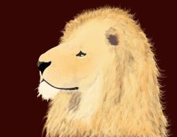 A Lion by Raxsen