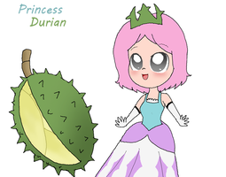 Princess Durian - Tough but Sweet by Rotommowtom