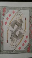 8 of Diamonds by Joileanna
