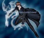 Kaiba Fighting -colored- by naoguiarts