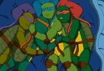 After a long day. by TMNTISLOVE