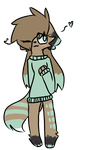 Sweater Cat. Adopt closed by NutterTron