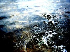 Ripples and droplettes by AshesDust