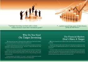 brochure for On target USA by KASDS