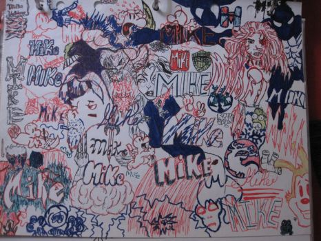 Mike name collage by hamasuki