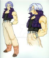 FoT - Trunks colored by Rider4Z