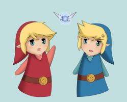 If Only Red and Blue met Navi by Saf57