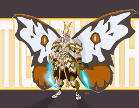Tiger Moth Commission by EricGuzman