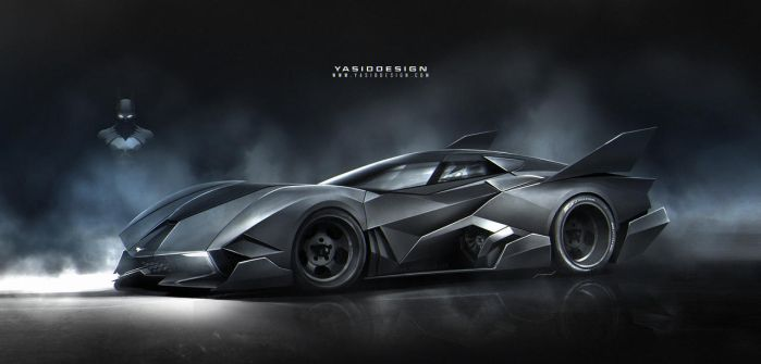 Batmobile+Egoistalines by yasiddesign
