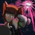 Firework Kiss by HyperSweetHappyness