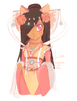 Charater design: Lien by nozomei