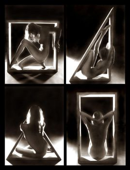 A Figurative Frame of Matter by Nickeee