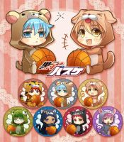 KuroBasu - Baby Pajamas badges by mandachan