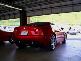 2010 Alfa Romeo 8C Comp rear by Partywave