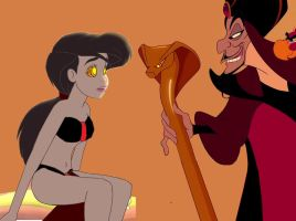 Jafar hypnotizes Melody (Request) by hypnotica2002