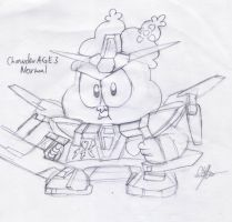 Chowder AGE-3 Normal Sketched by murumokirby360