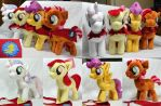 Cutie Mark Crusaders with Capes by Cryptic-Enigma