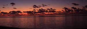 Sunrise panorama by Leaush
