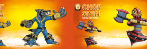 Skylander OCs: SWAP Force - Tech by Proceleon