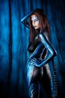 Black, Blue and Silver by oldmacman