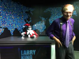 Harley is the New Host of Larry King by the-cupid-of-crime