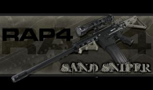 RAP4 Sand Sniper by RealActionPaintball