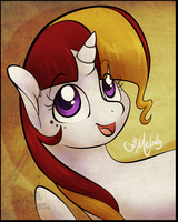 MLP- Cherri Melody by Yolly-anda