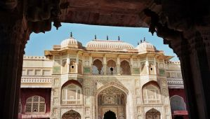 Amber Fort 01 Jaipur India by johnclarke62