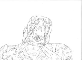 Borderlands 2 - Psycho Outline by stonerloner