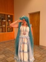 MonsterCon 2013 - Miku by BlueWaterRose