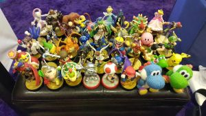 My newer Amiibo Collection by GSxSlash