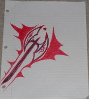 Battle Axe Drawing by DefectiveDre