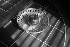 Photography: Grey-Scale Apple by AWLNorris