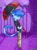Rainy Day and you're not here by HateFarron