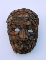 wood mask by meryemtomak