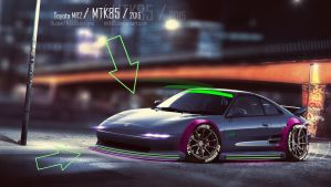 Toyota MR2 by MTK85