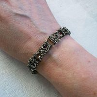 Theodora 2 Chainmaille Bracelet by Wiresculptress
