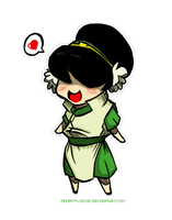 AVATAR: Chibi Toph by seven7h-door