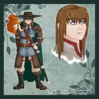 Anima Character Sheet - Nate by firepixie
