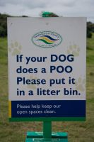 Poo sign by richardjwakefield